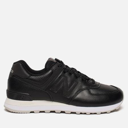 Мужские кроссовки New Balance ML574DAK Luxe Leather Black