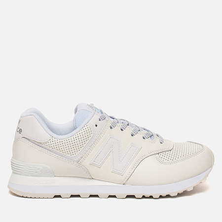 Мужские кроссовки New Balance ML574DAW Luxe Leather White