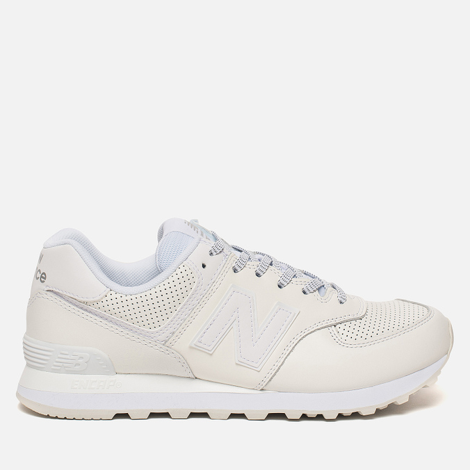 Мужские кроссовки New Balance ML574DAW Luxe Leather White ML574DAW 7adec9b8e3b
