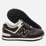 New Balance ML574LUA/D Sneakers Brown photo- 1
