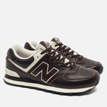 New Balance ML574LUA/D Sneakers Brown photo- 2