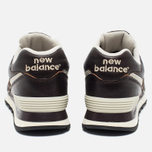 New Balance ML574LUA/D Sneakers Brown photo- 5