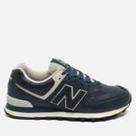 New Balance ML574LUB/D Sneakers Navy photo- 0