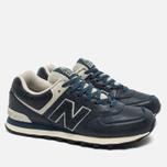 New Balance ML574LUB/D Sneakers Navy photo- 2