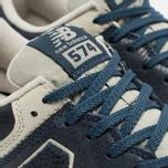 New Balance ML574LUB/D Sneakers Navy photo- 3