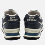 New Balance ML574LUB/D Sneakers Navy photo- 5