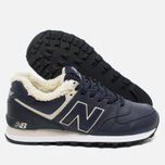 New Balance ML574NV/D Sneakers Navy photo- 1