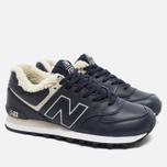 New Balance ML574NV/D Sneakers Navy photo- 2
