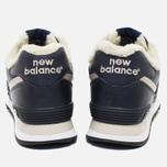 New Balance ML574NV/D Sneakers Navy photo- 5