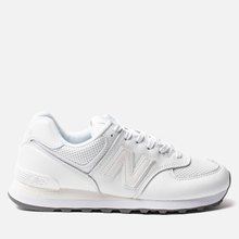 Кроссовки New Balance ML574SNQ White/White фото- 3