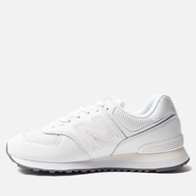 Кроссовки New Balance ML574SNQ White/White фото- 5