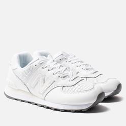 Кроссовки New Balance ML574SNQ White/White