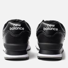 Кроссовки New Balance ML574SNR Black/Black фото- 3