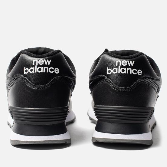 Кроссовки New Balance ML574SNR Black/Black