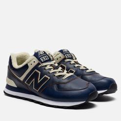 Мужские кроссовки New Balance ML574WNF Dark Navy