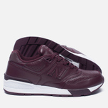 Кроссовки New Balance ML597BUL Burgundy фото- 1