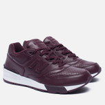 Кроссовки New Balance ML597BUL Burgundy фото- 2