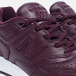 Кроссовки New Balance ML597BUL Burgundy фото- 5