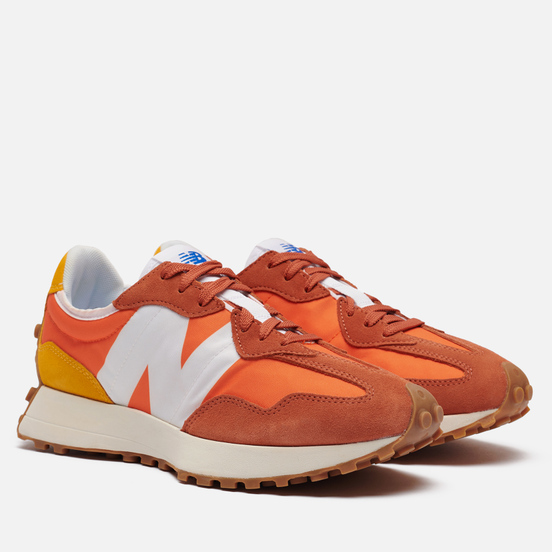 Мужские кроссовки New Balance MS327CLA Orange/White