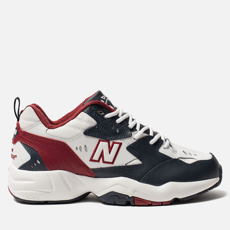 Кроссовки New Balance MX608BR1 White/Bordeaux/Grey