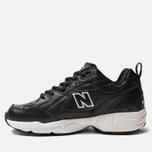Кроссовки New Balance MX608BW1 Black/White фото- 1
