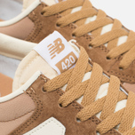 Кроссовки New Balance U420ROA Beige/Brown фото- 5