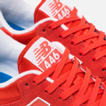 Кроссовки New Balance U446SSG Red фото- 5