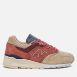 Кроссовки New Balance x Stance C-M997ST First Of All Pack Rose/Sand фото- 0
