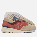 Кроссовки New Balance x Stance C-M997ST First Of All Pack Rose/Sand фото- 1