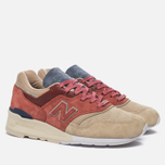 Кроссовки New Balance x Stance C-M997ST First Of All Pack Rose/Sand фото- 2
