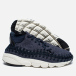 Кроссовки Nike Air Footscape Woven Chukka SE Obsidian/Sail/Black фото- 1
