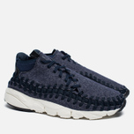 Кроссовки Nike Air Footscape Woven Chukka SE Obsidian/Sail/Black фото- 2