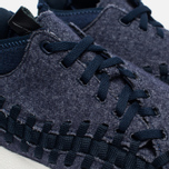 Кроссовки Nike Air Footscape Woven Chukka SE Obsidian/Sail/Black фото- 3