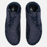 Кроссовки Nike Air Footscape Woven Chukka SE Obsidian/Sail/Black фото- 4