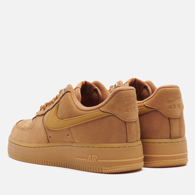 Кроссовки Nike Air Force 1 07 Low Wheat Flax/Wheat/Gum Light Brown/Black