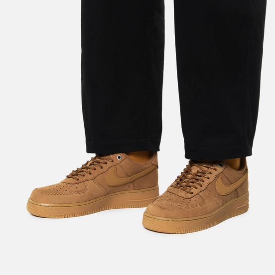 Кроссовки Nike Air Force 1 07 Low Wheat Flax/Wheat/Gum Light Brown/Black