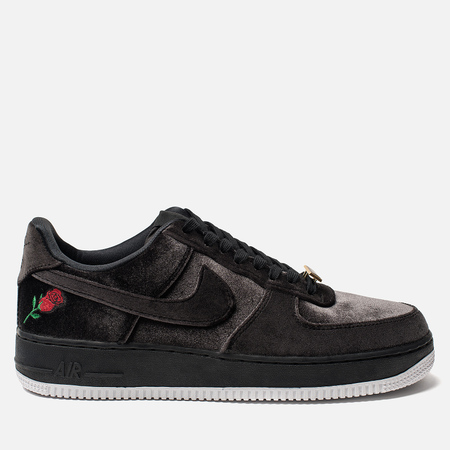 Кроссовки Nike Air Force 1 '07 QS Rose Black/Black/White