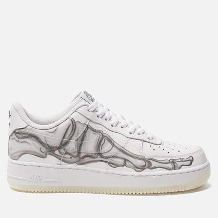 Кроссовки Nike Air Force 1 '07 Skeleton QS White/White/White