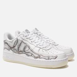 Кроссовки Nike Air Force 1 '07 Skeleton QS White/White/White