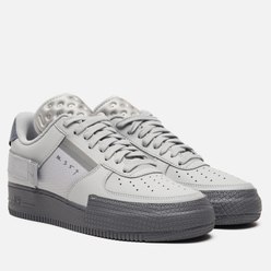 Кроссовки Nike Air Force 1 Type 2 Grey Fog/Cool Grey