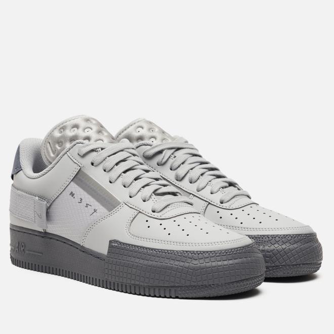 Кроссовки Nike Air Force 1 Type 2 Grey Fog/Cool Grey