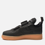 Кроссовки Nike Air Force 1 Utility Black/White/Gum Med Brown фото- 2