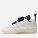 Кроссовки Nike Air Force 1 Utility QS White/Black фото- 1