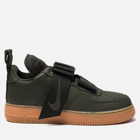 Кроссовки Nike Air Force 1 Utility Sequoia/Black/Gum Med Brown