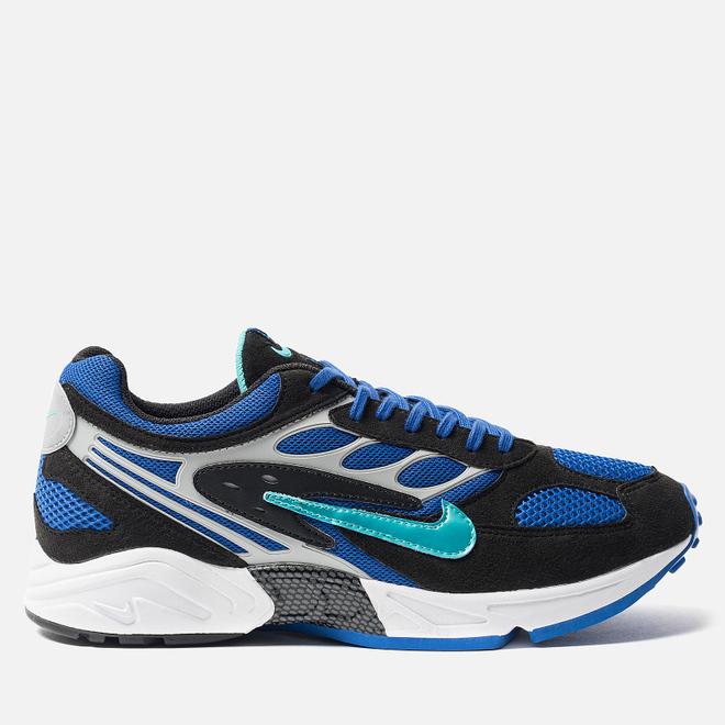Кроссовки Nike Air Ghost Racer Black/Hyper Jade/Racer Blue/Wolf Grey