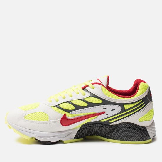 Мужские кроссовки Nike Air Ghost Racer White/Atom Red/Neon Yellow/Dark Grey