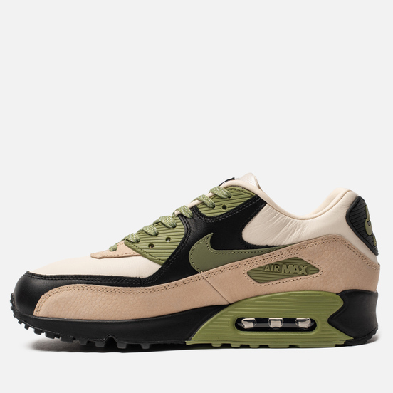 Мужские кроссовки Nike Air Max 90 NRG Light Cream/Alligator/Pale Ivory Black