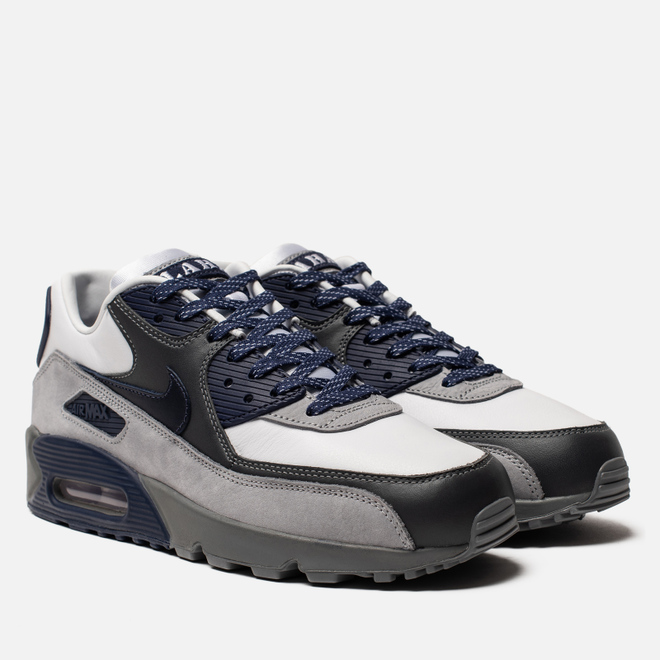 Кроссовки Nike Air Max 90 NRG White/Neutral Indigo/Smoke Grey