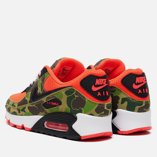 Кроссовки Nike Air Max 90 SP Reverse Duck Camo Infrared/Black