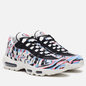 Кроссовки Nike Air Max 95 Country Pack Korea Summit White/Black/Royal Tint/Racer Pink фото - 0